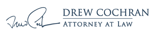 Drew Cochran, Attorney at Law Logo